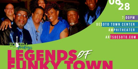Fourth Friday Concert - The Legends of Funky Town  tickets