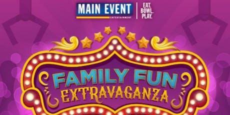 Family Fun Extravaganza at Main Event San Antonio West tickets