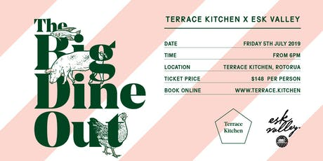 THE BIG DINE OUT WINTER @ Terrace Kitchen tickets
