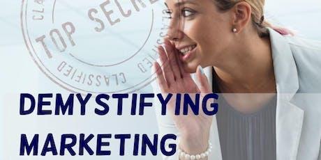 Demystifying Marketing tickets