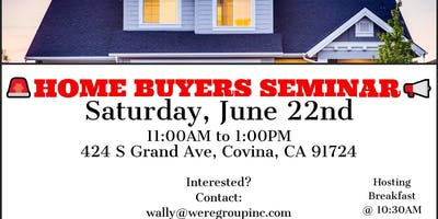Home Buyers Seminar- Buy A Home For As Little As $1,500 Down