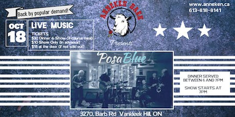 Live Music with 'POSABLUE tickets