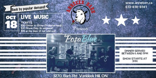 Live Music with 'POSABLUE