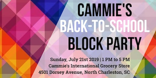 Cammie's Back-To-School Block Party