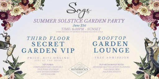 Summer Solstice Garden Party