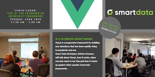 Lunch+Learn:  Vue.js: The Progressive Javascript Framework