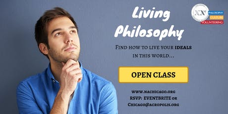 Living Philosophy Course - OPEN CLASS tickets