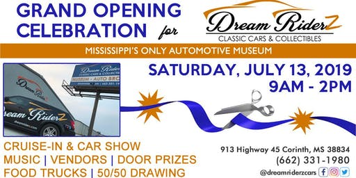Dream Riderz Grand Opening Cruise-In & Car Show