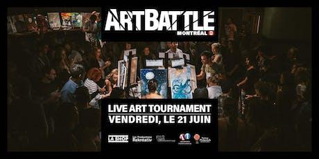 Art Battle Montréal - 21 Juin, 2019 billets