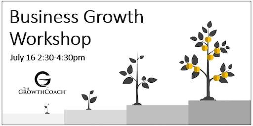 Business Growth Workshop 7/16/19