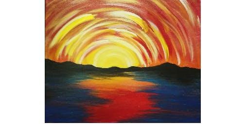 Orange Sunset | Family Night! | $10