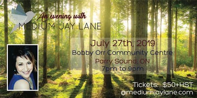 An Evening with Medium Jay Lane - Parry Sound