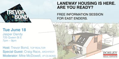 Laneway Housing. Investment. Legacy. Space. Are You Ready?