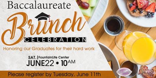 2019 Baccalaureate Brunch Celebration