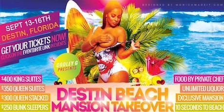 FROM ATLANTA TO DESTIN FL BEACH MANSION TAKEOVER  tickets