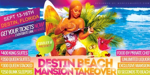 FROM ATLANTA TO DESTIN FL BEACH MANSION TAKEOVER