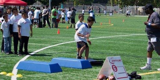 Angel Tree Football Clinic | Volunteer Registration