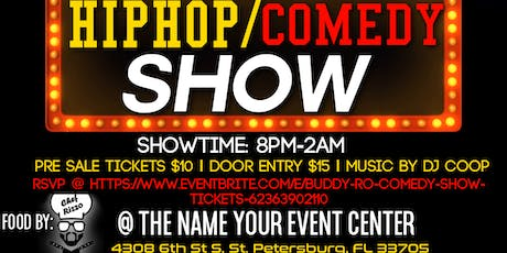 Buddy Ro Comedy Show tickets