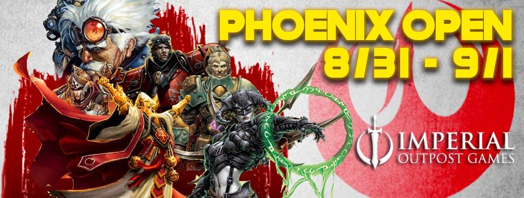 2019 Warmachine Phoenix Open