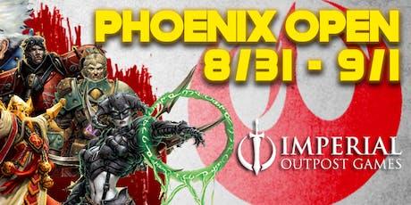 2019 Warmachine Phoenix Open tickets