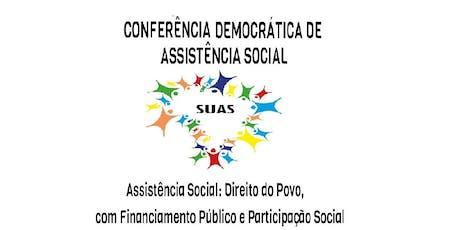 Conferência Municipal de Assistência Social de Palhoça ingressos