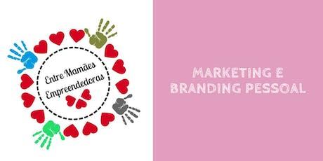 Marketing e branding pessoal bilhetes