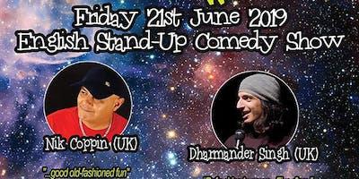 Cosmic Comedy World Tour - An Edinburgh Fringe Pre