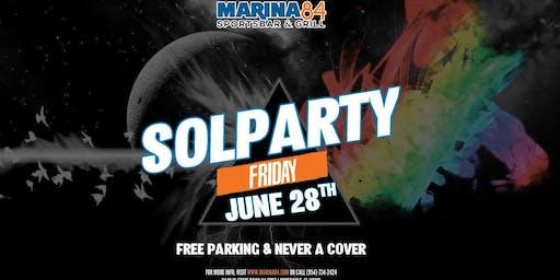 Solparty Band at Marina84
