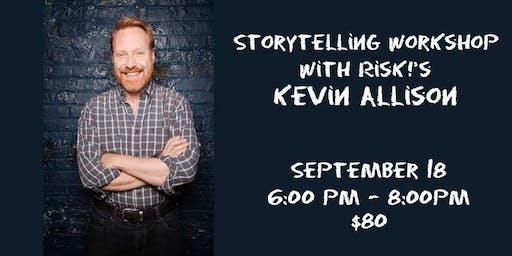 Storytelling Workshop with RISK!'s Kevin Allison