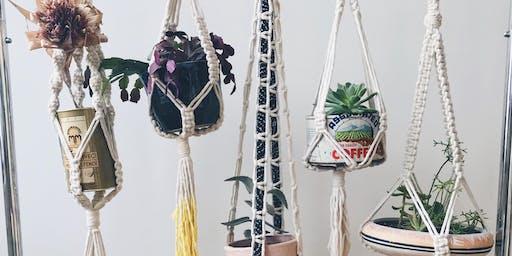 Macramé Plant Hanging Workshop