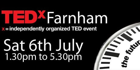 TEDxFarnham tickets