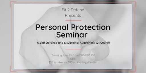 Personal Protection Seminar
