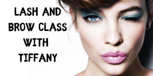 Certified Lash and Brow Class
