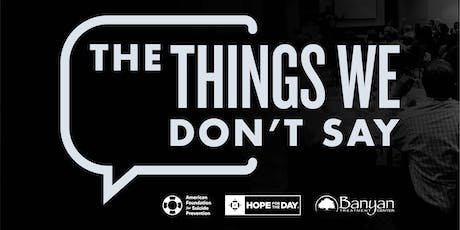 Things We Don't Say (Hosted by Little Broken Things Salon) tickets