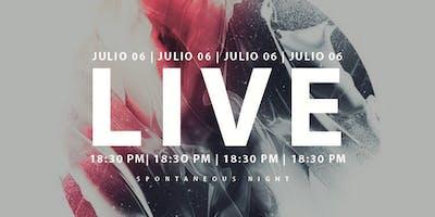 ARDE LIVE | JULIO 2019