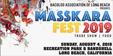 Masskara Festival in Long Beach! Presented by the Long Beach Bacolod Association