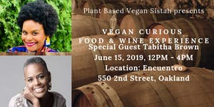 Vegan Curious Food & Wine Experience