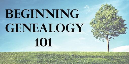 Beginning Genealogy 101