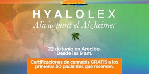 Alivio para el Alzheimer y Certificación para pacientes de Cannabis Medicinal - Llega Hyalolex (ARECIBO)