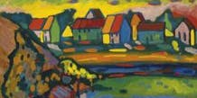 Paint Like the Masters: Kandinsky Landscape
