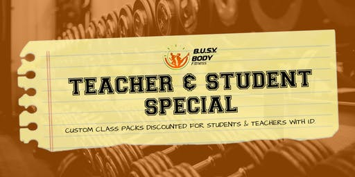 Teachers & Students Special