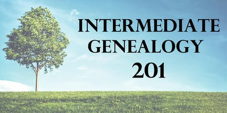 Intermediate Genealogy 201 tickets