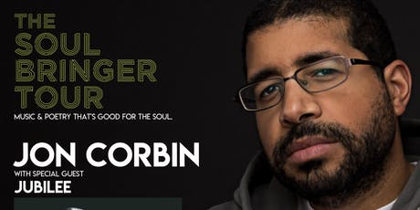 Jon Corbin - The Soul Bringer Tour (Kitchener, ON) tickets