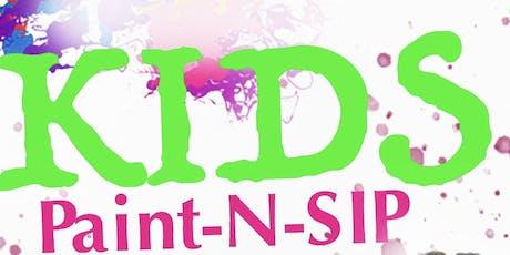 Kids Paint & Sip Brunch tickets