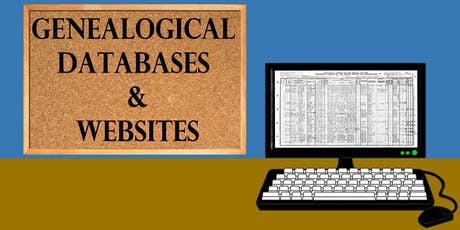 Genealogical Databases and Websites tickets