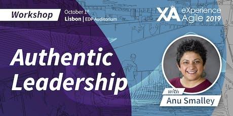 XA Workshop: Authentic Leadership - Anu Smalley bilhetes