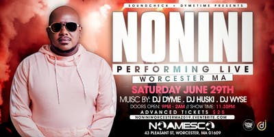 NONINI LIVE IN WORCESTER