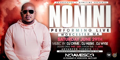 NONINI LIVE IN WORCESTER tickets