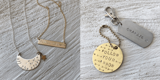 Hand-Stamped Jewelry with Carrie Saxl