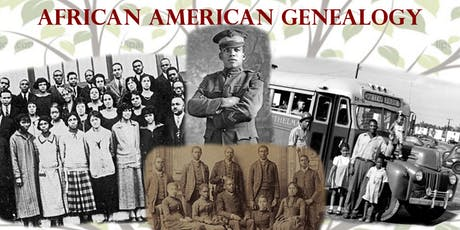 African American Genealogy tickets